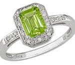 Colored Diamond Rings