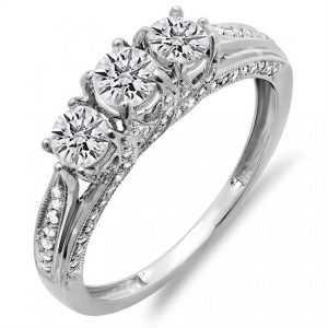 Beautiful anniversary diamond rings