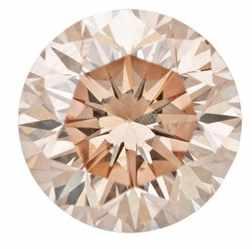 Round champagne diamond
