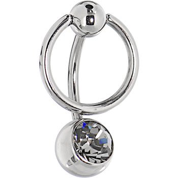 diamond belly button rings 03