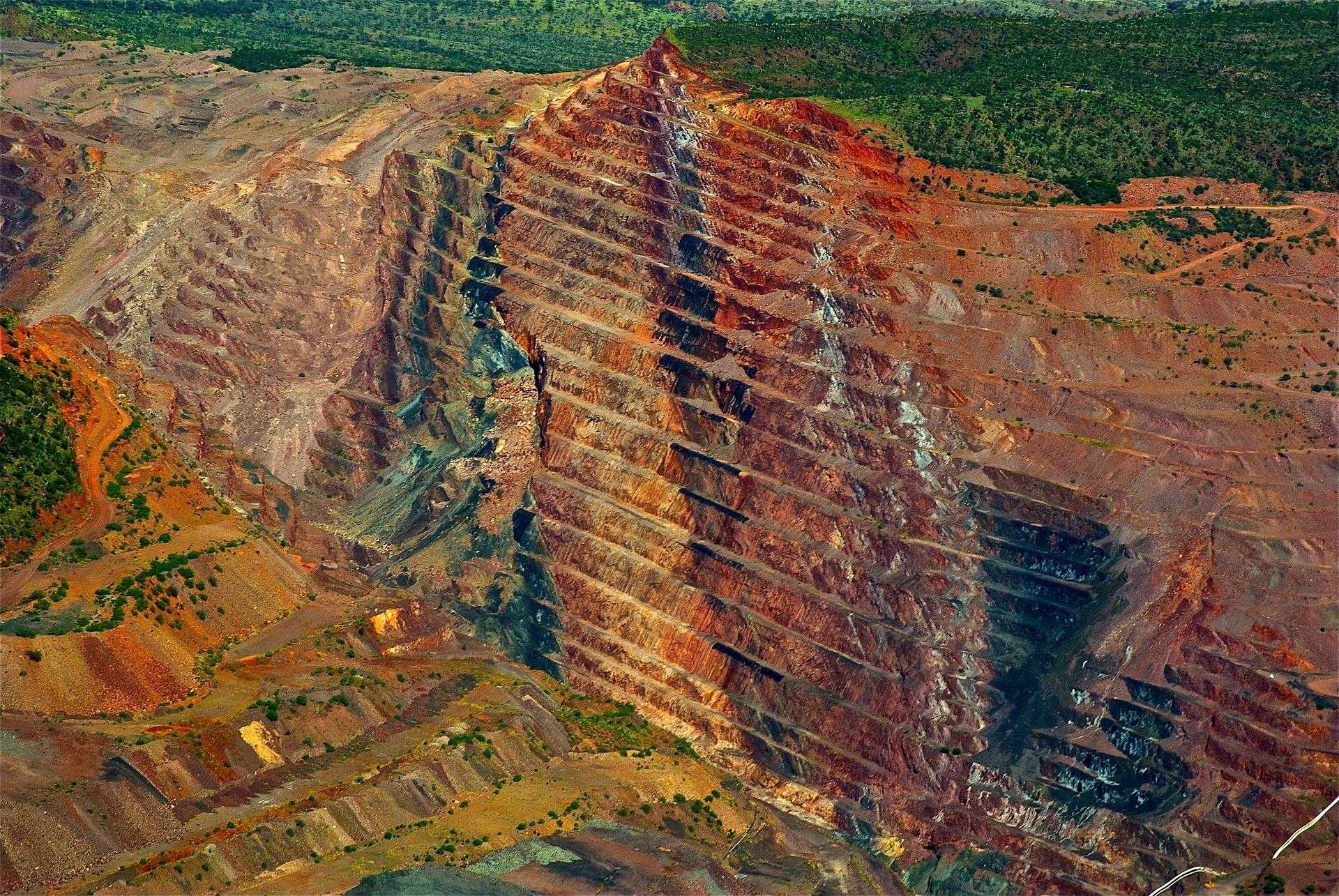 Diamond Mining Process