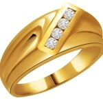 Gold Diamond Engagement Rings