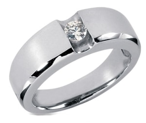 The very unique tension set diamond rings