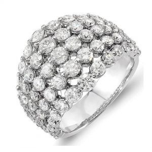 Just for the ladies, right hand diamond ring