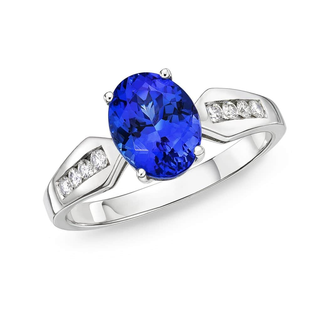 Tanzanite And Diamond Rings