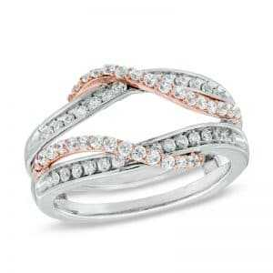 Think outside the box with unique diamond rings