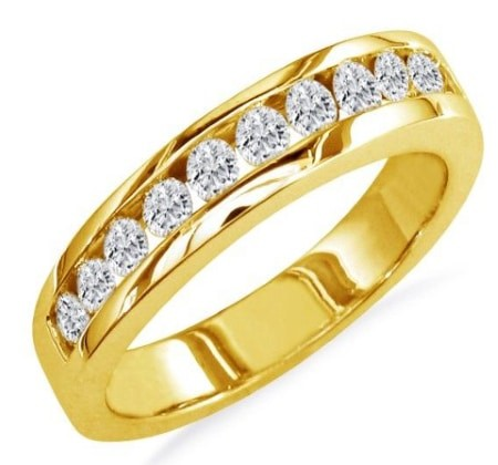 yellow gold engagement rings01