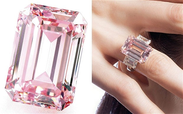The Perfect Pink Diamond Ring